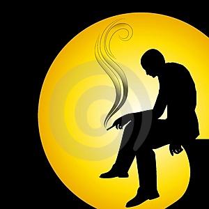 man-silhouette-smoking-alone-thumb